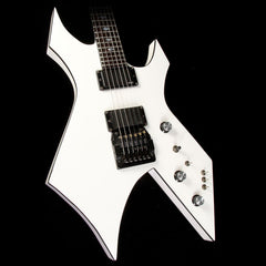 1989 B.C. Rich USA Warlock White with Black Binding