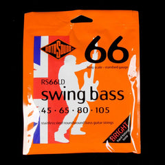 Rotosound RS66LD Swing Bass 66 Stainless Steel Electric Bass Guitar Strings 45-105