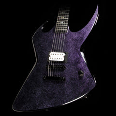Used 2010 Bernie Rico Junior Hyde Electric Guitar Marbleized Purple
