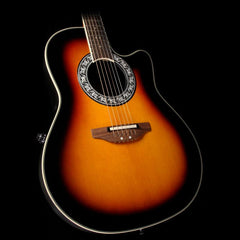 Ovation Glen Campbell Signature Cutaway Acoustic-Electric Guitar Sunburst