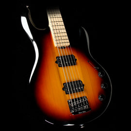 Used Ernie Ball Music Man Silhouette 6-String Electric Bass Guitar Sunburst