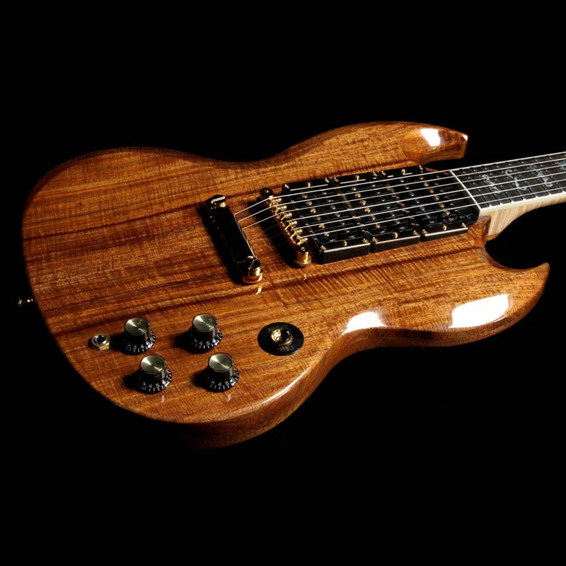 Eagle Brand Electric Guitar : gibson custom shop sg flying eagle electric guitar natural koa the music zoo ~ Hamham.info Haus und Dekorationen