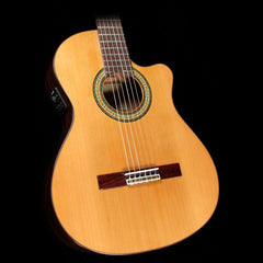 Alhambra 3C Classical Nylon String Cutaway Acoustic Guitar Natural