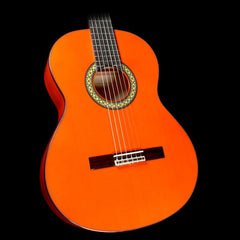 Alhambra 4F Flamenco Nylon String Acoustic Guitar Orange