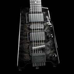 Steinberger Spirit GT Pro Quilt Deluxe Transparent Black
