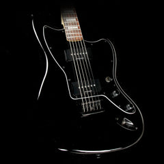 Squier Vintage Modified Baritone Jazzmaster Transparent Black