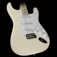 Used 2017 Fender Eric Clapton Stratocaster Electric Guitar Olympic White