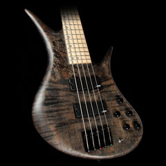 Legator Helio HBX5-300 Pro 5-String Electric Bass Guitar Washed Black