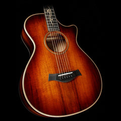 Taylor K22ce 12-Fret Koa Acoustic-Electric Guitar Shaded Edgeburst