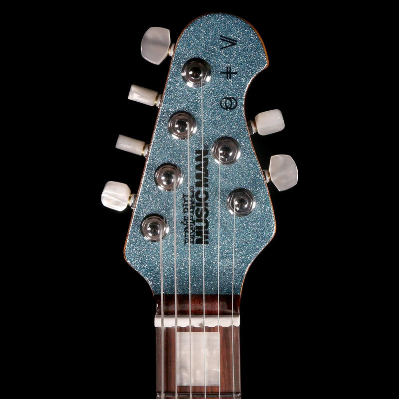 Ernie Ball Music Man BFR St. Vincent Turquoise Crush Sparkle G91609