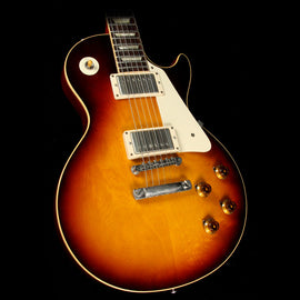 Used 2010 Gibson Custom 1958 Les Paul Reissue Electric Guitar Tobacco Sunburst