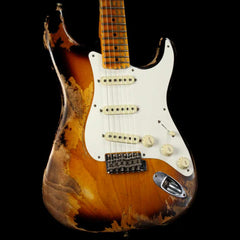 Fender Custom Shop '57 Stratocaster Heavy Relic Flash Coat Lacquer 2-Tone Sunburst