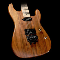 Charvel Custom Shop San Dimas Koa HS Natural Series Electric Guitar Natural Oil Music Zoo Exclusive