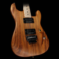 Charvel Custom Shop San Dimas Koa HH Natural Series Electric Guitar Natural Oil Music Zoo Exclusive