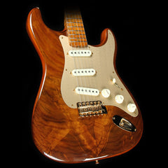 Fender Custom Shop Artisan Stratocaster Electric Guitar Roasted Butternut Claro Walnut