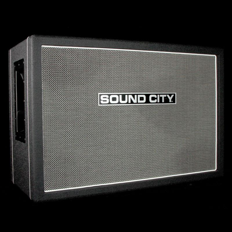 Sound City SC 2x12 Guitar Cabinet with Fane Speakers SC212