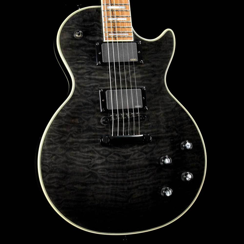 Epiphone Prophecy Les Paul Custom Plus GX Midnight Ebony ENCHMEBH1