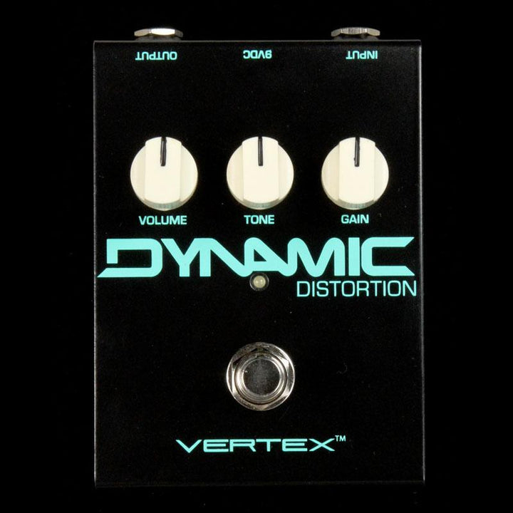 Vertex Effects Dynamic Distortion Effects Pedal