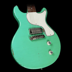 Rock N Roll Relics Thunders DC Electric Guitar Aged Sea Foam Green
