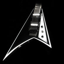Jackson JS Series Rhoads Black with White Bevels