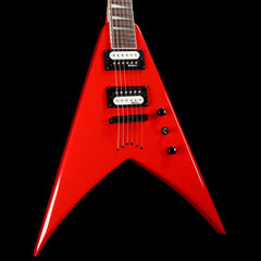 Jackson JS Series King V Ferrari Red