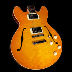 Collings I-35 Deluxe Semi-Hollowbody Tangerine Burst