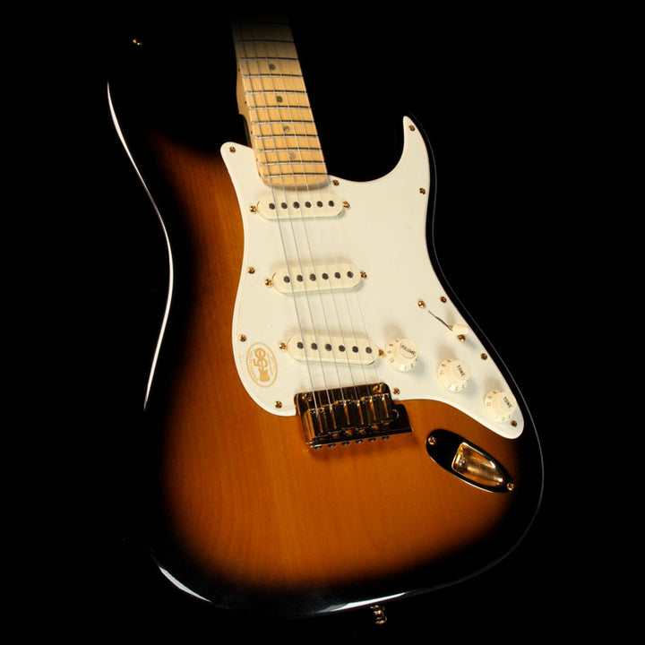 Fender 50th Anniversary Stratocaster 2-Tone Sunburst Eddie Ojeda Collection DZ4126881