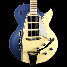 Backlund Rockerbox Semi-Hollow Guitar Blue and Creme