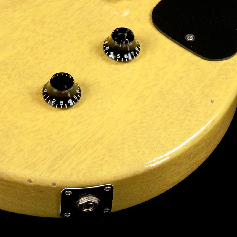 Gibson Custom Shop 1958 Les Paul Junior Doublecut Reissue Guitar TV Yellow 2003 8 3535