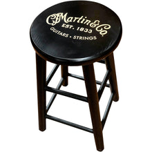 Martin Players Stool Black with Gold Logo Open-Box