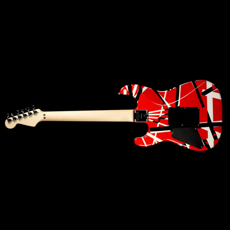 EVH Stripe Series Red Black and White 2013