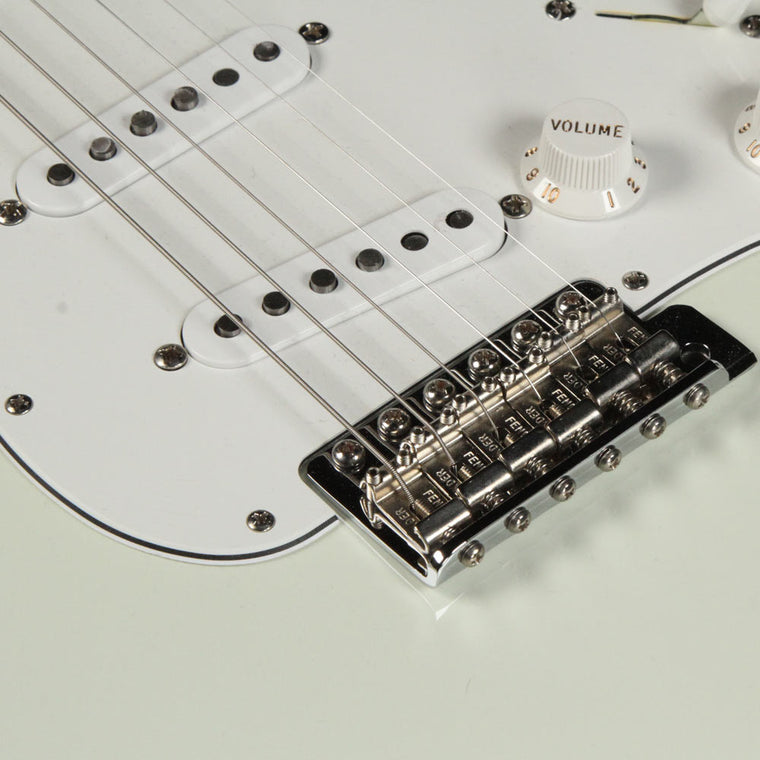 Fender Custom Shop '69 Stratocaster Olympic White NOS Reverse Headstock 2012