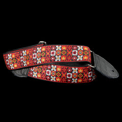 Souldier Woodstock Red Guitar Strap