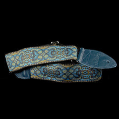 Souldier Arabesque Turquoise Guitar Strap