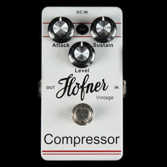 Hofner Vintage Compressor Effects Pedal