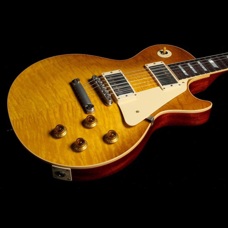 Gibson Custom Shop Standard Historic '59 Les Paul Reissue Honey Lemon Fade VOS 982340