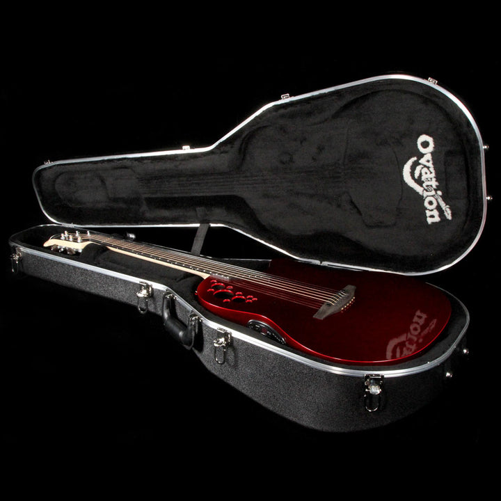 Ovation American Limited Chrome Red LXT Acoustic C1868LXT-CRX