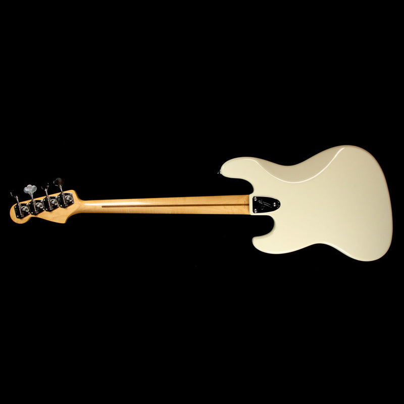 Fender Marcus Miller Signature Jazz Bass Olympic White S036556