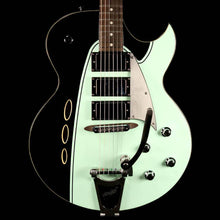 Backlund Rockerbox DLX Semi-Hollow Black and Mint