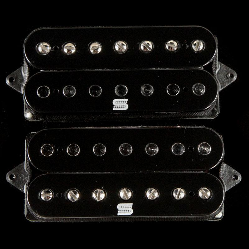 Seymour Duncan Duality 7-String Humbucker Pickup Set Black 11106-75-B7