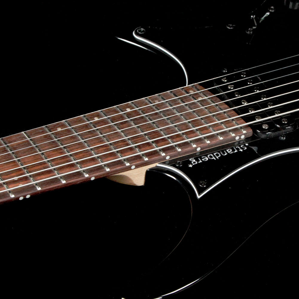 Strandberg boden classic 7 tremolo black the music zoo for Strandberg boden 7