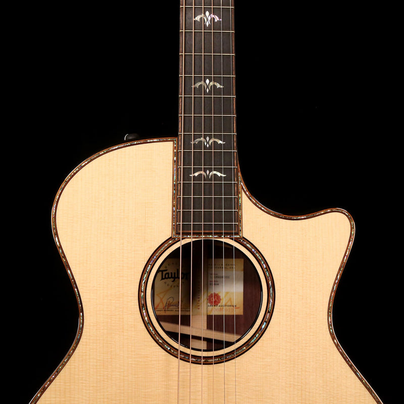 Taylor 914ce V-Class Grand Auditorium Acoustic-Electric Natural 1106229101
