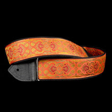 Jodi Head Orange Gypsey Guitar Strap