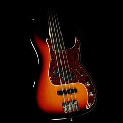 Fender Artist Series Tony Franklin Fretless Precision Bass 3-Tone Sunburst