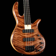 Elrick eVolution Gold Series 4-String Bass Flame Redwood Top Natural