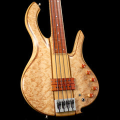 Mike Browne Design Gnome Fretless 4 Bass Guitar Natural 2009