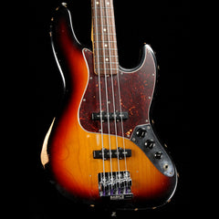 Fender Road Worn Jazz Bass 3-Tone Sunburst 2013