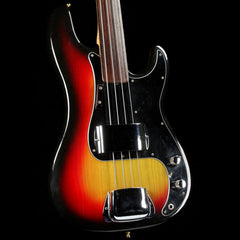 Fender Precision Bass Fretless Sunburst 1978