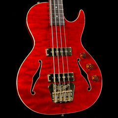 B&G Guitars Big Sister Bass Guitar Transparent Red