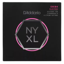 D'Addario NYXL0984SB Strandberg 8-String Set Super Light